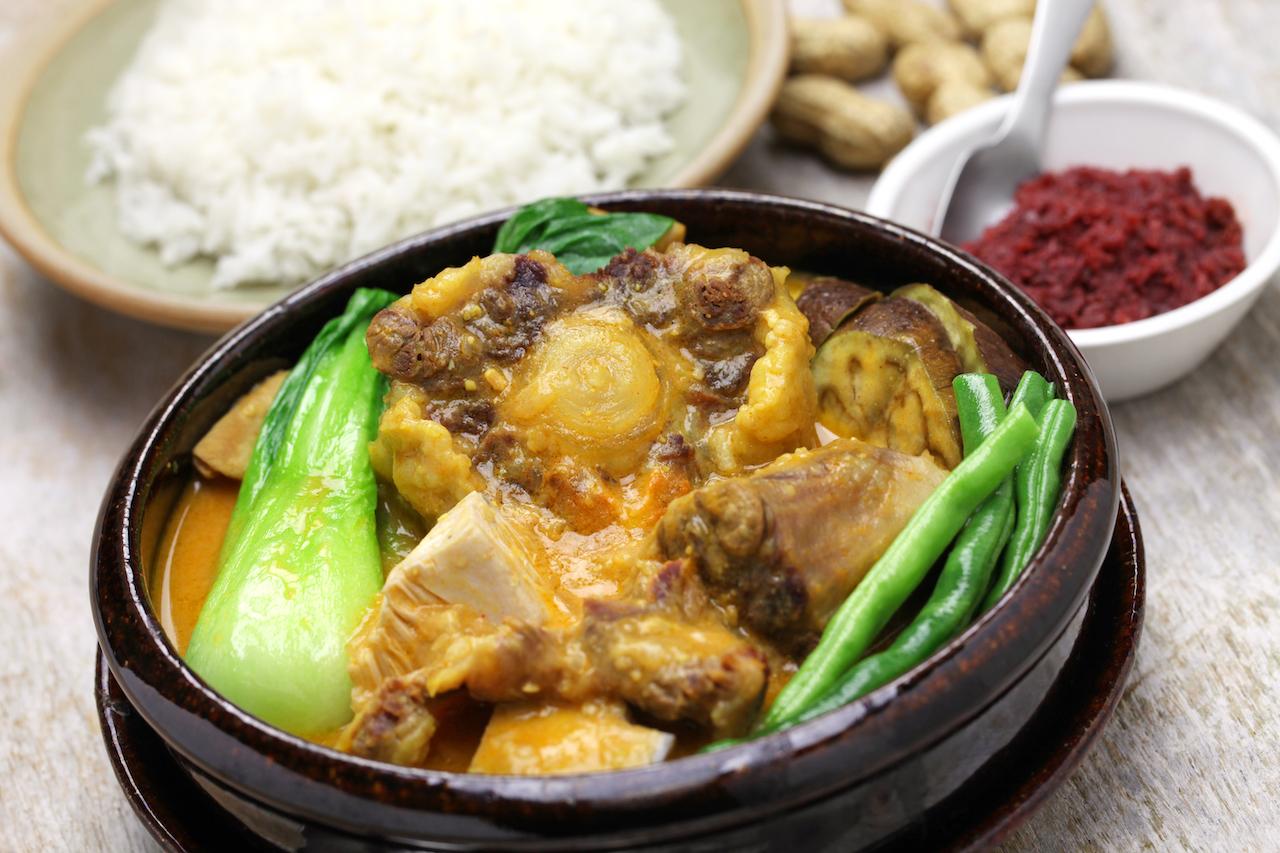 kare kare, filipino oxtail stew